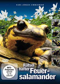 Rätselhafter Feuersalamander - Ein Unterrichtsmedium auf DVD