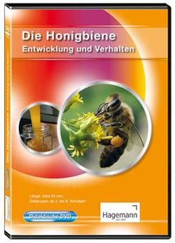 Die Honigbiene - Entwicklung und Verhalten - Ein Unterrichtsmedium auf DVD