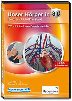 Unser Körper in 3D - Ein Unterrichtsmedium auf DVD