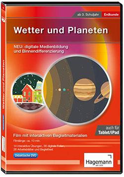 Wetter und Planeten - Ein Unterrichtsmedium auf DVD