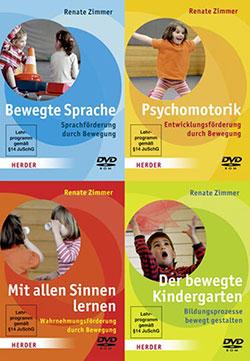 Förderung durch Bewegung von Renate Zimmer [4 DVDs] - Ein Unterrichtsmedium auf DVD