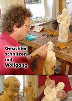 Gesichter schnitzen mit Wolfgang - Ein Unterrichtsmedium auf DVD