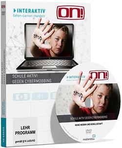 Interaktives Medienpaket: Schule aktiv! Gegen Cybermobbing - Ein Unterrichtsmedium auf DVD