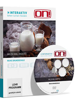 Interaktives Medienpaket: Milch mal anders - Ein Unterrichtsmedium auf DVD