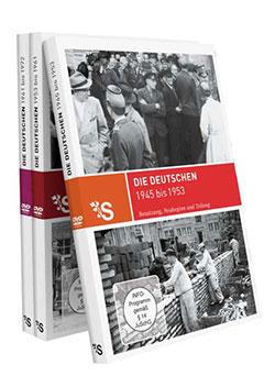 Zeitreisen - Die Deutschen 1945- 1972 - Ein Unterrichtsmedium auf DVD