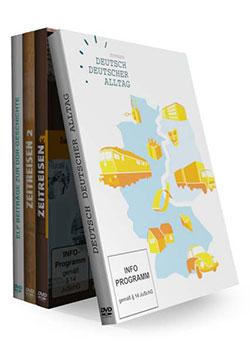 Zeitreisen DDR -Teil 1-4 (4 DVDs) - Ein Unterrichtsmedium auf DVD