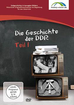 Die Geschichte der DDR Teil 1 - Ein Unterrichtsmedium auf DVD