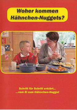 Woher kommen Hähnchen-Nuggets? - Ein Unterrichtsmedium auf DVD