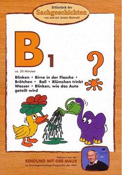 B1 - Bibliothek der Sachgeschichten - Ein Unterrichtsmedium auf DVD