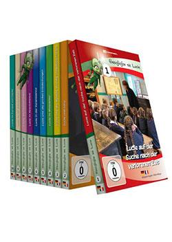 Geschichte mit Lucie / Lucie raconte l'histoire [10 DVDs] - Ein Unterrichtsmedium auf DVD