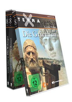 Bundle: Terra X - Große Völker - Teil 1-3 - Ein Unterrichtsmedium auf DVD