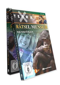 Bundle: Terra X - Reihe Das Rätsel Mensch Teil 1-2 - Ein Unterrichtsmedium auf DVD
