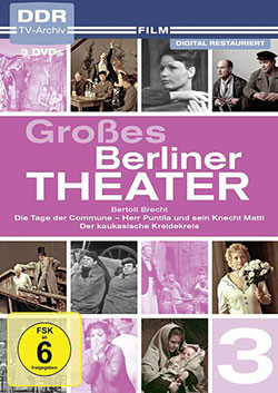 Großes Berliner Theater, Vol. 3 [Box mit 3 DVDs] - Ein Unterrichtsmedium auf DVD