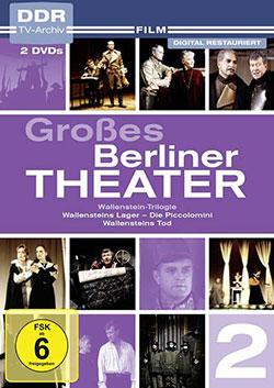 Großes Berliner Theater, Vol. 2 [Box mit 2 DVDs] - Ein Unterrichtsmedium auf DVD