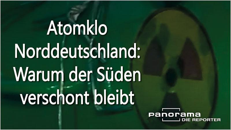 Atomklo Norddeutschland: Warum der S�den verschont bleibt