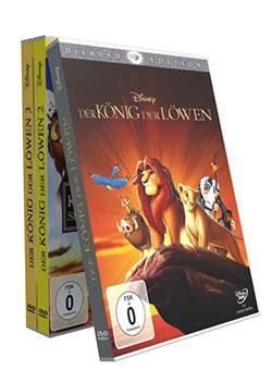Der König der Löwen - Die Trilogie [3 DVDs] - Ein Unterrichtsmedium auf DVD