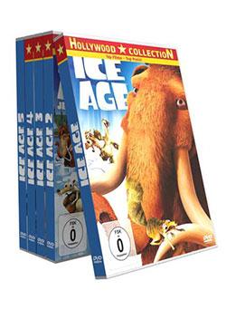 Ice Age -  Teil 1 bis 5 [5 DVDs] - Ein Unterrichtsmedium auf DVD