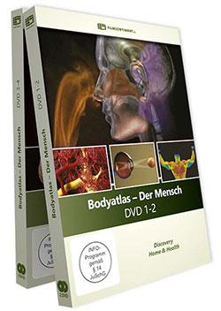 Bodyatlas [4 DVDs] - Ein Unterrichtsmedium auf DVD