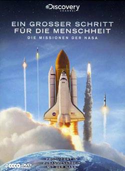 Ein großer Schritt für die Menschheit - Die Missionen der NASA [4 DVDs] - Ein Unterrichtsmedium auf DVD