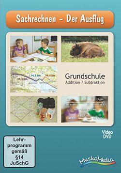 Sachrechnen - Der Ausflug - Ein Unterrichtsmedium auf DVD