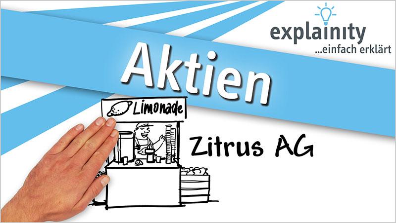 explainity® Erklärvideo - Aktien einfach erklärt - Ein Unterrichtsmedium auf DVD