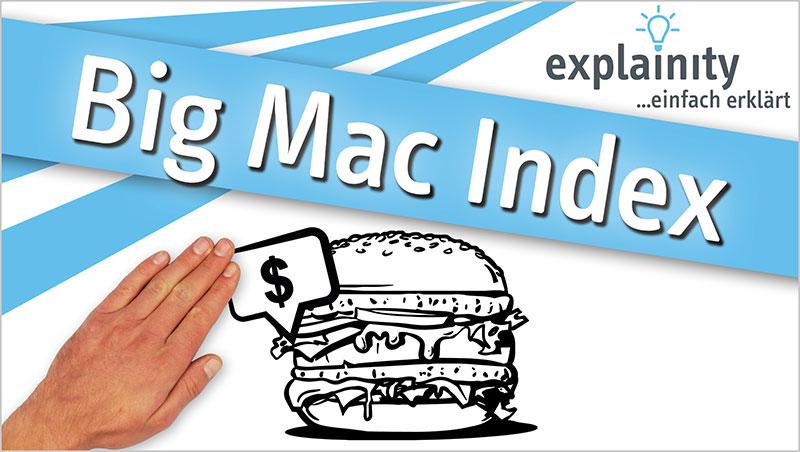 explainity® Erklärvideo - Big Mac Index einfach erklärt - Ein Unterrichtsmedium auf DVD