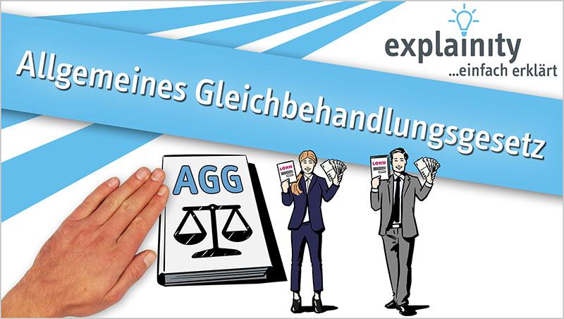 explainity® Erklärvideo - Allgemeines Gleichbehandlungsgesetz einfach erklärt - Ein Unterrichtsmedium auf DVD