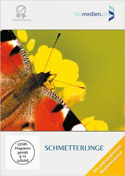 Schmetterlinge - Ein Unterrichtsmedium auf DVD