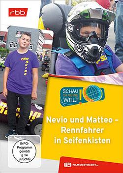 Schau in meine Welt - Nevio und Matteo - Rennfahrer in Seifenkisten - Ein Unterrichtsmedium auf DVD