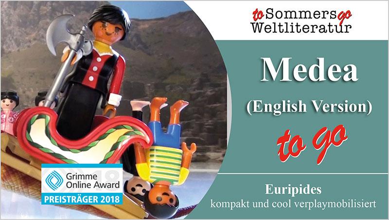 Medea to go (English Version) - Ein Unterrichtsmedium auf DVD