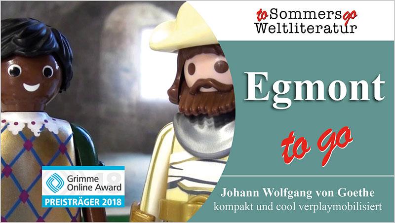 Egmont to go - Ein Unterrichtsmedium auf DVD