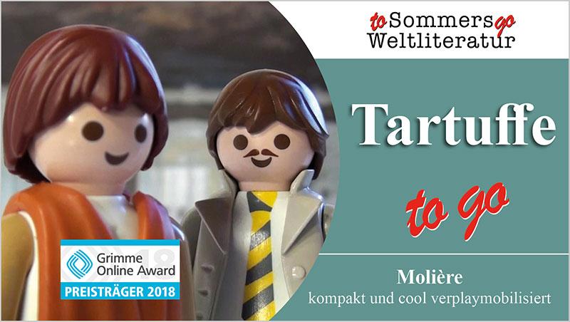 Tartuffe to go - Ein Unterrichtsmedium auf DVD