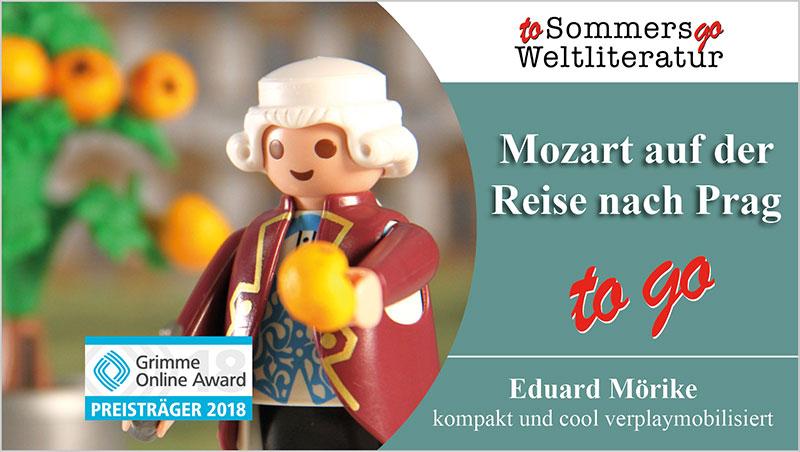 Mozart auf der Reise nach Prag to go - Ein Unterrichtsmedium auf DVD