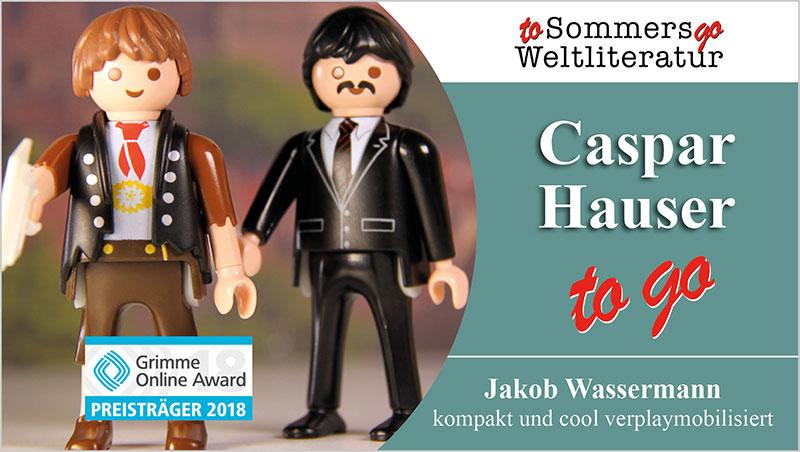 Caspar Hauser to go - Ein Unterrichtsmedium auf DVD