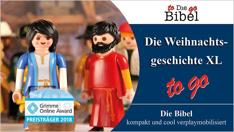 Die Weihnachtsgeschichte XL to go - Ein Unterrichtsmedium auf DVD