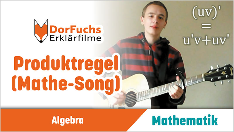 Produktregel (Mathe-Song) - Ein Unterrichtsmedium auf DVD