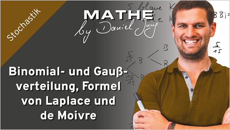 Binomial- und Gaußverteilung, Formel von Laplace und de Moivre - Ein Unterrichtsmedium auf DVD