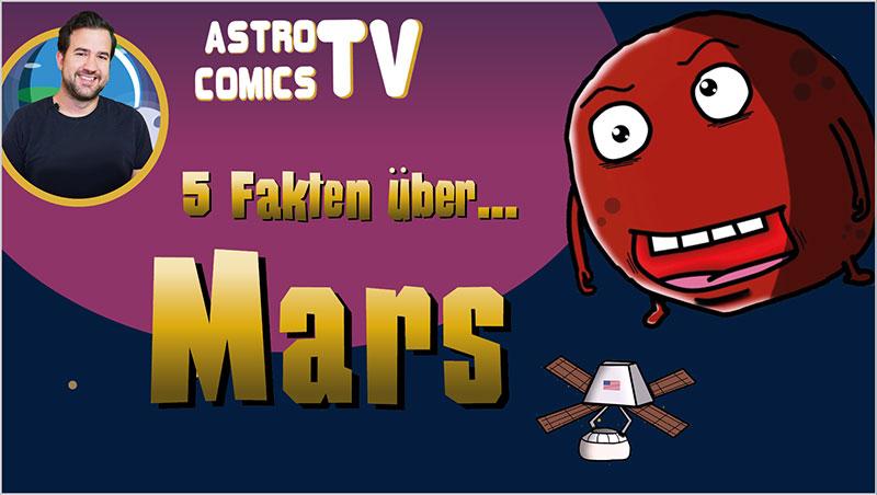 5 Fakten über Mars - Ein Unterrichtsmedium auf DVD
