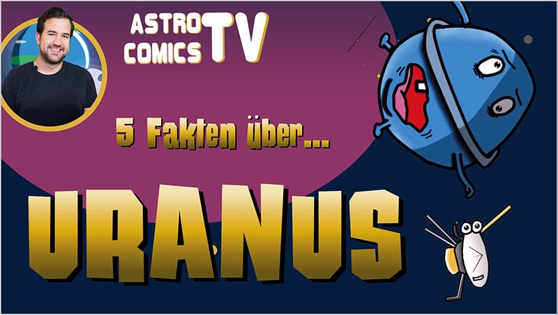 5 Fakten über Uranus - Ein Unterrichtsmedium auf DVD