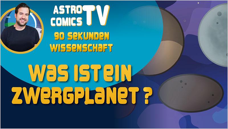 Was ist ein Zwergplanet? - Ein Unterrichtsmedium auf DVD