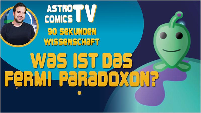 Was ist das Fermi-Paradoxon? - Ein Unterrichtsmedium auf DVD