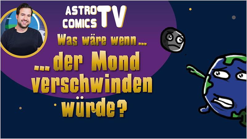 Was wäre, wenn der Mond verschwinden würde? - Ein Unterrichtsmedium auf DVD