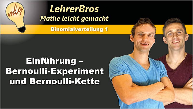 Einführung - Bernoulli-Experiment und Bernoulli-Kette - Ein Unterrichtsmedium auf DVD