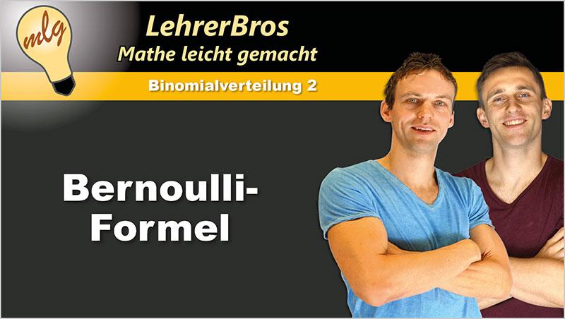 Bernoulli-Formel - Ein Unterrichtsmedium auf DVD
