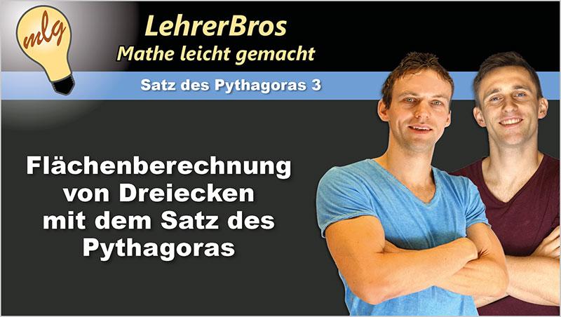 Flächenberechnung von Dreiecken mit dem Satz des Pythagoras - Ein Unterrichtsmedium auf DVD