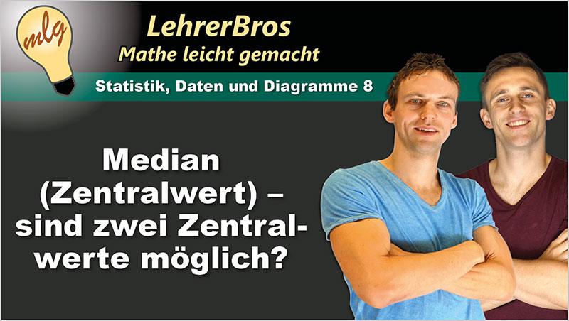 Median (Zentralwert) - sind zwei Zentralwerte möglich? - Ein Unterrichtsmedium auf DVD