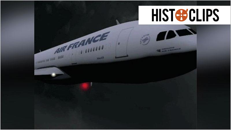 Videografik: Dramatische letzte Minuten im Todesflug Rio-Paris