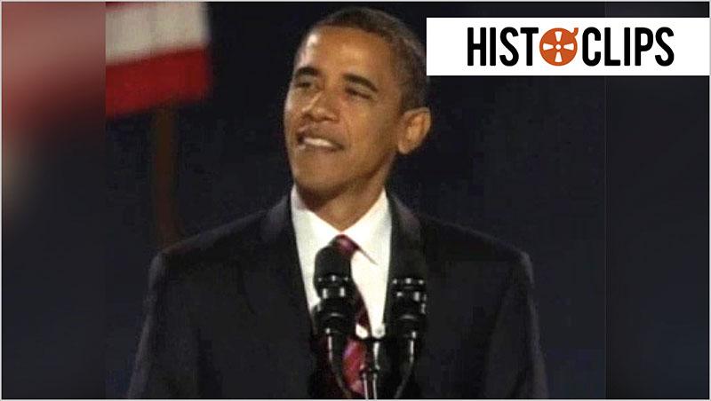 Barack Obama erster Afroamerikaner im Wei�en Haus
