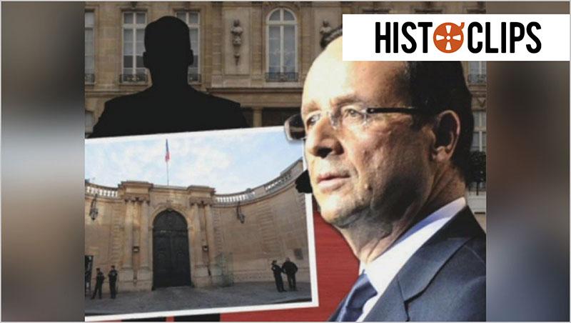 Fran�ois Hollande zieht in �lys�e-Palast ein