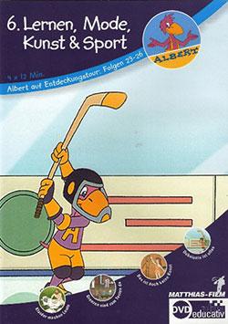 Lernen, Mode, Kunst und Sport - Ein Unterrichtsmedium auf DVD